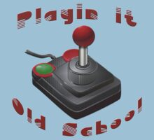 Playin' It Old School Kids Tee