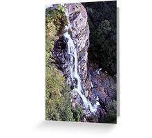 Leura cascade Greeting Card
