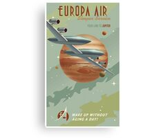 Jupiter Travel Poster Canvas Print
