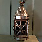 Beautiful Antique Copper Lantern by Jane Neill-Hancock