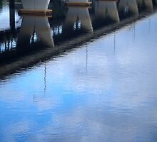 Reflections of a Bridge by Stethaki