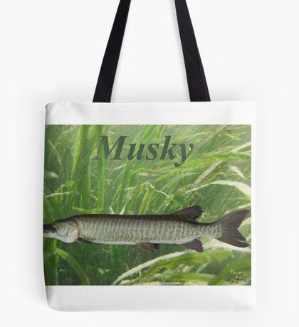 Musky Tote Bag