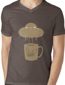 Coffee Cloud Mens V-Neck T-Shirt