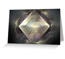 Diamond in the Mist  Greeting Card