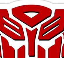 Transformers Autobot Logo Sticker
