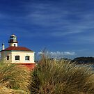 Bandon Coquille River Lighthouse by James Eddy