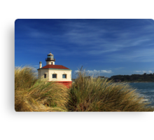 Bandon Coquille River Lighthouse Canvas Print