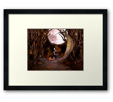 Dragonflyte Framed Print