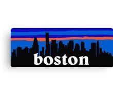 Boston - Massachusetts, USA US cities collection Canvas Print