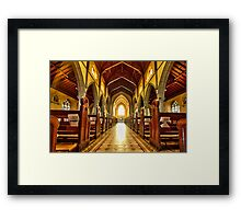 The Tiles of St Patricks Framed Print