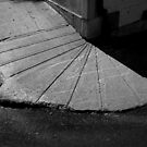 Sidewalk Fan by Peter Baglia