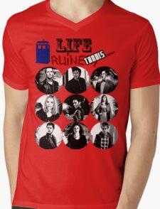 Life Ruiners - Tardis Edition Mens V-Neck T-Shirt