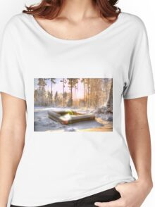 Memories of all the nights we grilled during the summer... Women's Relaxed Fit T-Shirt