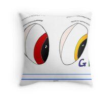 Des yeux de Google Throw Pillow