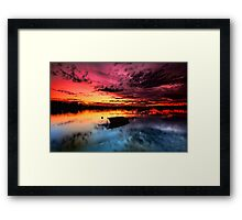 Floating Dream Framed Print