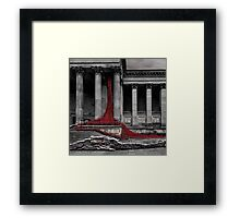 Weeping Window Framed Print