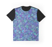 Iridescent Fragments Graphic T-Shirt