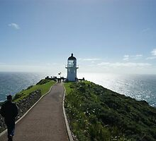The Lighthouse at Cape Reinga by Darren Bale