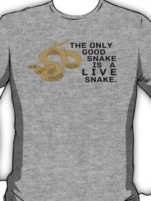 Live Snake T-Shirt