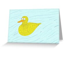 Bob the Duck! Greeting Card