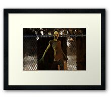 Zombie - Undead Horror Framed Print