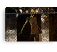 Zombie - Undead Horror Canvas Print