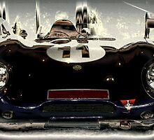 1956 Lotus 11 Sports Car by cjcphotography