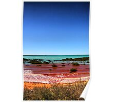 Red Surf, Broome Poster