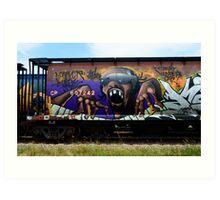 Graffiti Genius 1 Art Print