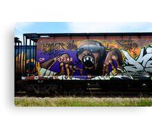 Graffiti Genius 1 Canvas Print