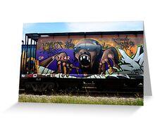 Graffiti Genius 1 Greeting Card