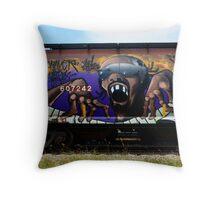 Graffiti Genius 1 Throw Pillow