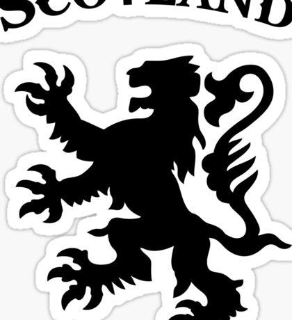 scotland lion Sticker