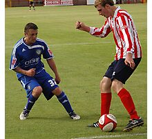 Witton Albion v Macclesfield Town Photographic Print