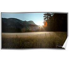 Yosemite Valley Sunrise Poster