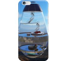 Surreal Glass House - The Water Droplet iPhone Case/Skin