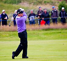 Tom Watson at The Open 2012 by Paul Collin