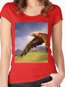 The King of the Mountains Women's Fitted Scoop T-Shirt