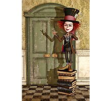 The Mad Hatter - Alice in Wonderland Art Photographic Print