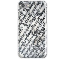 Ancient Pali Text iPhone Case/Skin