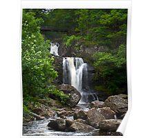Inversnaid Falls, Trossachs , Scotland Poster