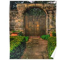 The Gate -  Mount Wilson, NSW Australia - The HDR Experience Poster