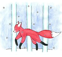 Fox in the Snow Photographic Print