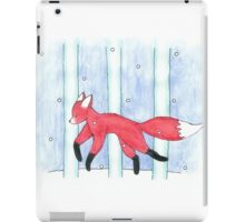 Fox in the Snow iPad Case/Skin