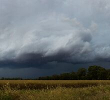 Severe Thunderstorm Panorama by Greg Thomas