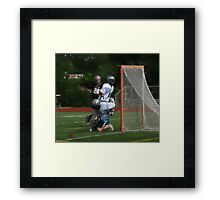 051612 035 0 oil boys lacrosse Framed Print