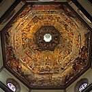 The Dome of Basilica di Santa Maria del Fiore in Florence by kirilart