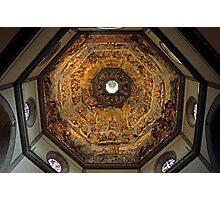 The Dome of Basilica di Santa Maria del Fiore in Florence Photographic Print