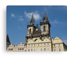 Tyn Church Prague Canvas Print