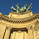Paris detail of Grand Palais by kirilart